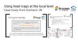 Using heat maps at the local level