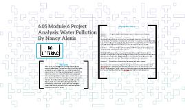 6.05 Module 6 Project