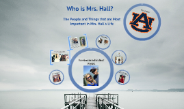 Who Is Mrs. Hall?