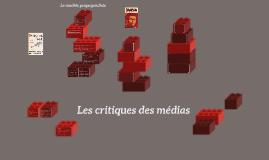 Les critiques des médias
