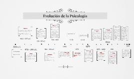 Copy of Evolución de la Psicología