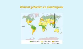 Klimaat gebieden en plantengroei
