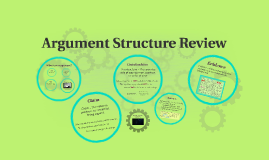Argument Structure Review
