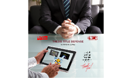RESEARCH TITLE DEFENSE