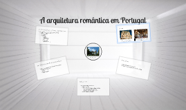 Copy of HCA M8   Romantismo   Arquitetura Portugal