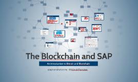Copy of SAP & Blockchain