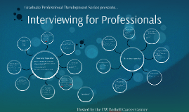 Interviewing for Professionals