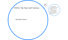 FOOD: My Real Self Interest