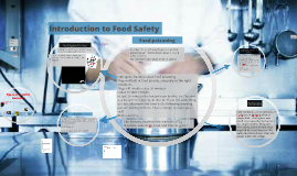 Introduction to Food Safety in the kitchen