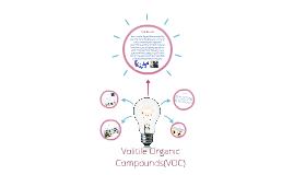 Volitile Organic Compounds (VOC)