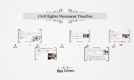 Civil Rights Movement Timeline