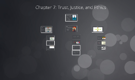 Chapter 7: Trust, Justice, and Ethics
