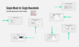 Simple Meals for Single Households