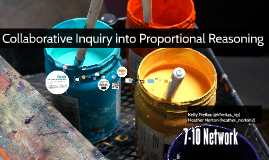 Collaborative Inquiry into Proportional Reasoning December 2014