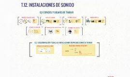 T12 INSTALACIONES DE SONIDO