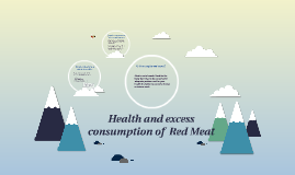 Health and Meat consumption