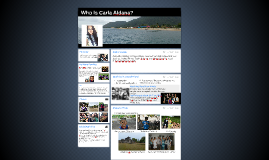 Copy of Who Is Carla Aldana?