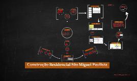 Projeto casa São Miguel Paulista
