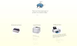 Printers prezi