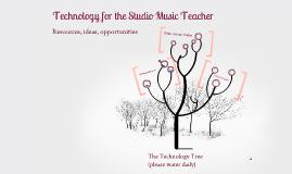 Technology for the Studio Music Teacher