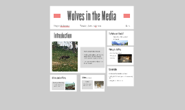 Wolves in the Media