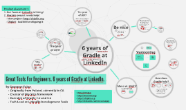 6 years of Gradle at LinkedIn