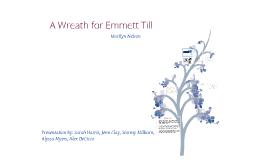 Copy of A Wreath for Emmett Till by Marilyn Nelson