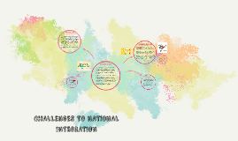 Copy of CHALLENGES TO NATIONAL INTEGRATION