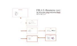 FBLA E-Business 2017