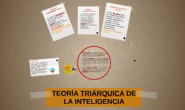 Teoría triárquica de la