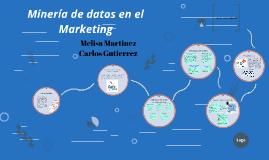 Copy of Minería de datos en el Marketing