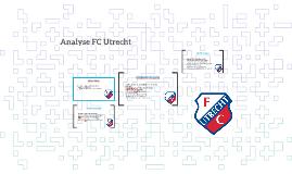 Analyse FC Utrecht