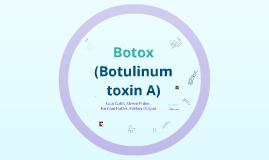 Botox- Anatomy 2012