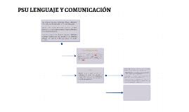 PSU LENGUAJE Y COMUNICACIÓN