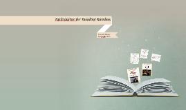Vance Resource Review Assignment: KickStarter for Reading Rainbow