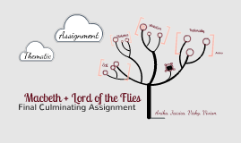 Culminating Thematic Assignment: Macbeth and Lord of the Flies