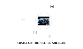 CASTLE ON THE HILL -ED SHEERAN