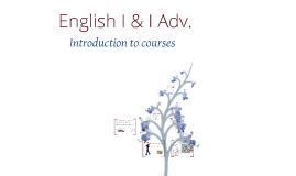 English I & I Adv.