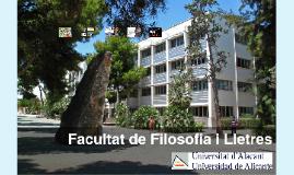 2016 Presentació SLC a la Facultat de Filosofia i Lletres (Universitat d'Alacant)