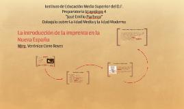 Copy of La introducción de la imprenta en la Nueva España