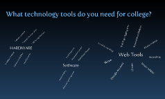 Tech Tools for college