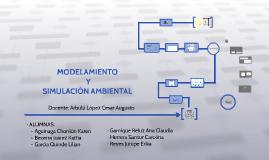 MODELAMIENTO Y SIMULACIÓN AMBIENTAL