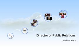 Director of Public Relations