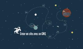 Créer un site avec un CMS