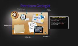 Petroleum Geologist
