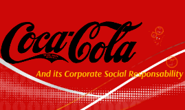 Coca-Cola CSR