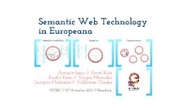 Semantic Web Technology in Europeana