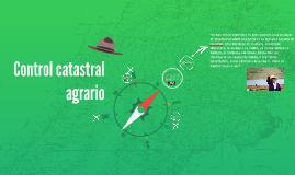 Control catastral agrario