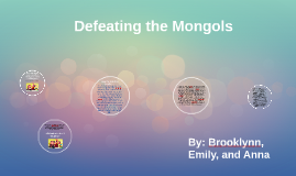 Peace with the Mongols