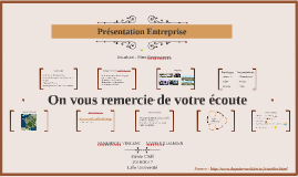 Presentation Entreprise